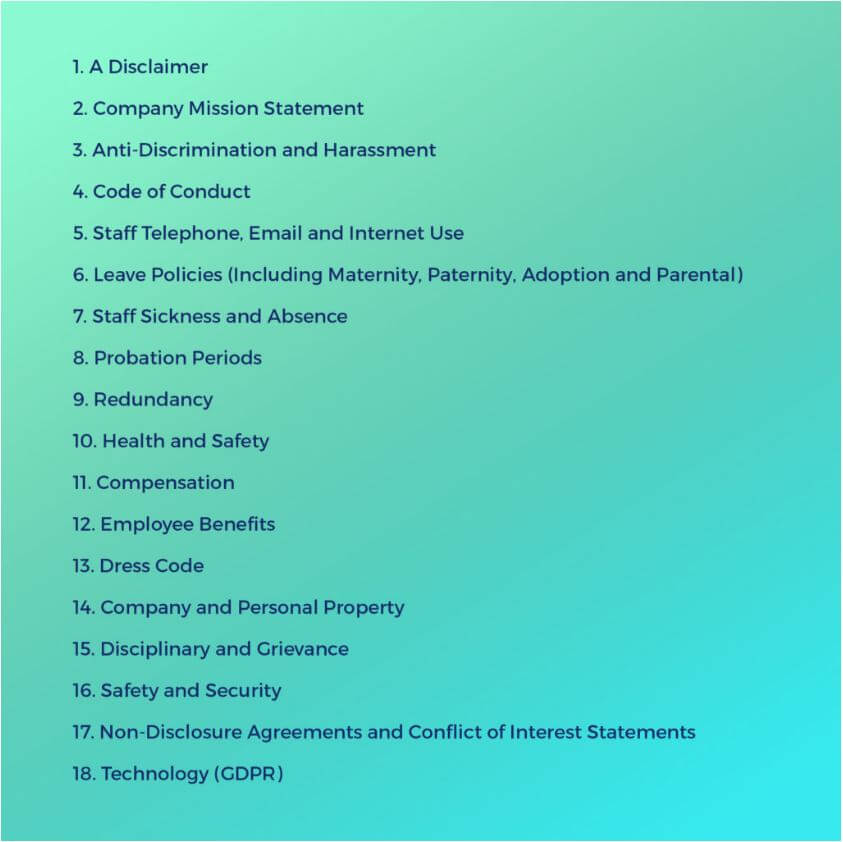 How To Write Human Resources Manual