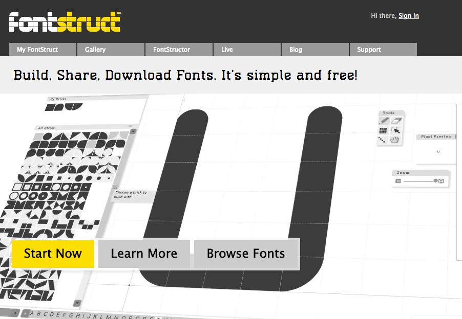 Font Struct