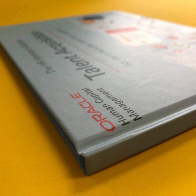 A5 Hradback bound book
